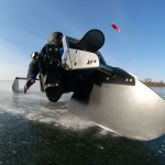 Buggy on ice mit Kufen