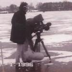 Das NDR Kamerateam verfolgte den Rekordlauf von Uwe Michelchen
