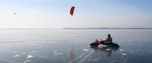 Buggy on ice